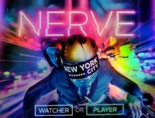 NERVE ~ DVD EMMA ROBERTS DAVE FRANCO ONLINE GAMING ACTION SCI-FI FUTURE ACTION