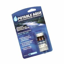 Potable Aqua Water Purification Treatment (50 Tablets) - Portable Drinking Wa...