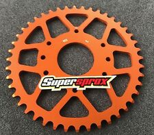 SUPERSPROX PIÑÓN DE ALUMINIO 44Z KTM 125 ,200 ,390 DUKE,RC 125 ,#520 ,RAL 905-44
