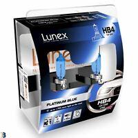 Lunex HB4 12V 55W 9006 Platinum Blue Bombillas Xenon Look Azul 4700K Set