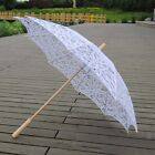 Hot Lace Hollow Umbrella Parasol For Bridal Wedding Garden Parties Decoration