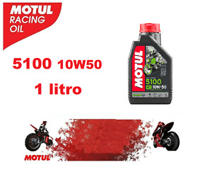 1 LITRO OLIO MOTORE MOTUL 5100 10W50 MA2 4 TEMPI 4t