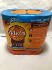 Metamucil Multihealth Fiber Sugar Free Orange Meta Mucil 228 Doses Natural 1324g