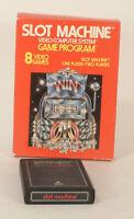 Vintage Boxed Atari 2600 game Slot Machine Tested & Working