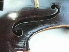alte dunkle Geige Str. Kopie zum Herrichten