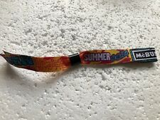McBusted Summer Show Adjustable Wristband Tour 2014