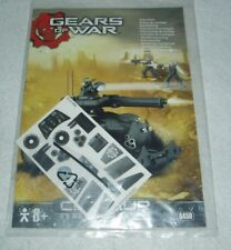 Sealed Gear of War Centaur Construction Set Instructions Stickers Only + 6450