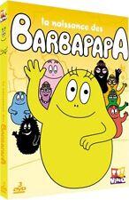 18024//COFFRET 3 DVD LA NAISSANCE DES BARBAPAPA 45 EPISODES 4 H NEUF DEBALLE