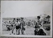 9th World Scout Jubilee Jamboree 1957 Original Photo 15: Concert Party?