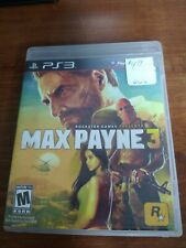 Max Payne 3 (PlayStation 3 PS3) Case & Disc Only