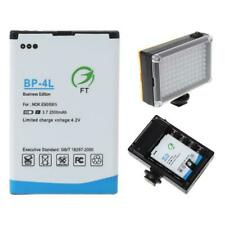 2500mah BP-4L Replacement Li-ion Battery New For 96/112 LED Camera Video Light