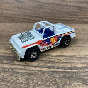 Hot Wheels 1973 Baja Bruiser Blackwall Champion White Truck Mattel