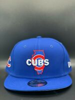 Chicago Cubs New Era Local State C1 9FIFTY Snapback Original Fit - Royal