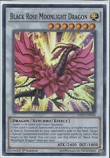 Yugioh HSRD-EN044 Black Rose Moonlight Dragon Super Rare 1st Edition