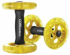 Core Strength And Ab Trainer, Tone Muscles Exercise Sports Gym Wheels Athletes