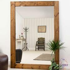 Extra Large Solid Wood Frame Wall/Leaner Mirror 6Ft11 X 4Ft11 211cm X 149cm
