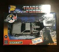 Transformers X Back to the Future 35th Anniversary Gigawatt Numbered /1985
