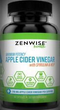 Maximum Potency Apple Cider Vinegar-Spirulina Kelp Weight Digestion Energy 90ct