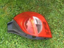 RENAULT CLIO 2005-2009 MK3 DRIVERS OSR REAR LIGHT LENS CLUSTER