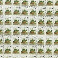 #2481 45 cent Pumpkin seed Sunfish Full Mint Sheet Of 100 Mnh Og