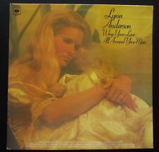 LYNN ANDERSON Wrap Your Love All Around Your Man ORIGINAL 1977 VINYL LP COUNTRY