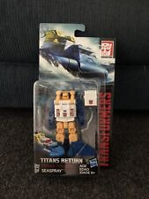 Transformers Titans Return Seaspray, Bumblebee, Kickback And Cosmos