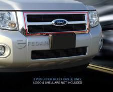Fedar Fits 2008-2012 Ford Escape Black Main Upper Billet Grille