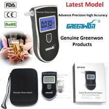 Latest Professional Digital Breath Alcohol Breathalyzer Tester AT-818