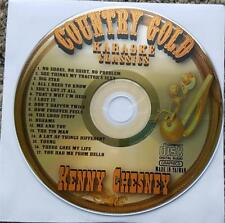 KENNY CHESNEY CDG KARAOKE COUNTRY GOLD CLASSICS - BIG STAR,DREAMS CD+G NEW