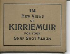 12  REAL  PHOTO  SNAPSHOTS  of  KIRRIEMUIR, VINTAGE (COMPLETE SET)