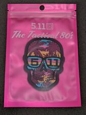 5.11 Tactical 80's Sunset Skull Patch