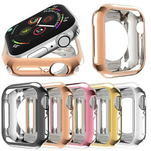 For Apple Watch Screen Protector 38/40/42/44mm Series SE 6 5 4 3 2 Case
