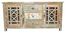 Recycled Timber French Country Shabby Chic Sideboard Cabinet Buffet Storage Boho