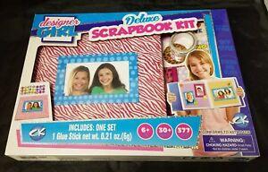 Designer Girl CK Deluxe Scrapbook Kit Ages 6+ Kids Scrapbooking Set NEW