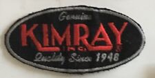 Gebuine Kimray Inc quality since 1948 patch