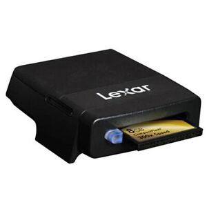 Lexar Professional FireWire 800 CompactFlash CF Card Reader IEEE 1394b PC/MAC