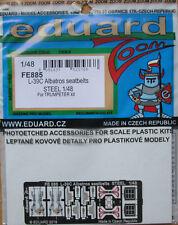 Eduard 1/48 FE885 colore acciaio Etch cinture di sicurezza-Trombettista L-39C KIT alabatros