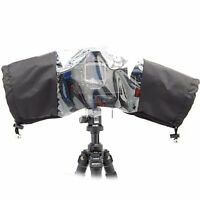 2 x JJC RC-1  Photo Professional Rain Cover for Large Canon Nikon DSLR Cameras