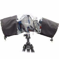 2x Photo Professional Rain Cover for Large Canon Nikon DSLR Cameras