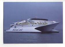 FE1740 - Hoverspeed Ferry - Seacat Scotland , built 1992 - postcard