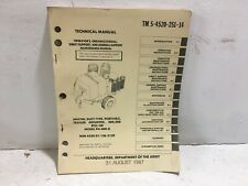 Tm 5-4520-251-14. Heater, Duct type, Portable, Model Ph-400-G. 1987 Reprint