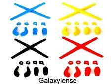 Earsocks Nose Pads Rubber Kits Oakley Juliet,Penny,Mars Black/Blue/Red/Yellow