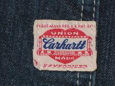 50s Carhartt Heart Label Painter Railroad Worker Denim Trousers Jeans Pants