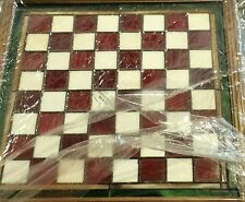 FRANKLIN MINT ~ COCA COLA STAINED GLASS CHESS GAME SET 24K GOLD PLATED   HTF BSW