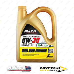 NULON Full Synthetic 5W-30 Long Life Engine Oil 5L for DODGE Journey 3.6L Auto