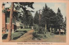 Postcard Cottages New Pines Hotel Digby Nova Scotia Canada