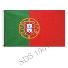 More details for portugal portuguese flag 5ft x 3ft