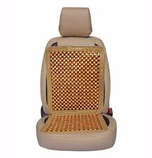 Zone Tech Ultra Comfort Car Natural Wooden Beaded Seat Cushion Beads Massage
