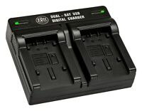 BM Dual Battery Charger for VW-VBT190, VW-VBT380, VW-VBK180, VW-VBK360 Battery