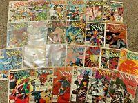 CLASSIC X-MEN amazing lot of 25 Marvel comics 1-49 inc 1-3 VF/NM 1986 Wolverine